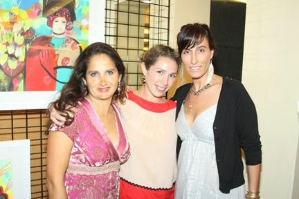 Celina Soto, Jean Von Borstel y Regina Donde.JPG