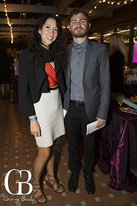 Cereescia Sandoval and Andrew Oliver