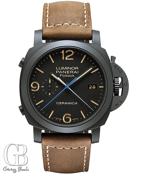 Certified Preowned Panerai Luminor  Chrono Flyback PAM