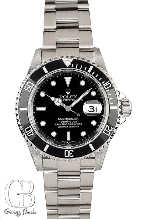 Certified Preowned Rolex Submariner ref.