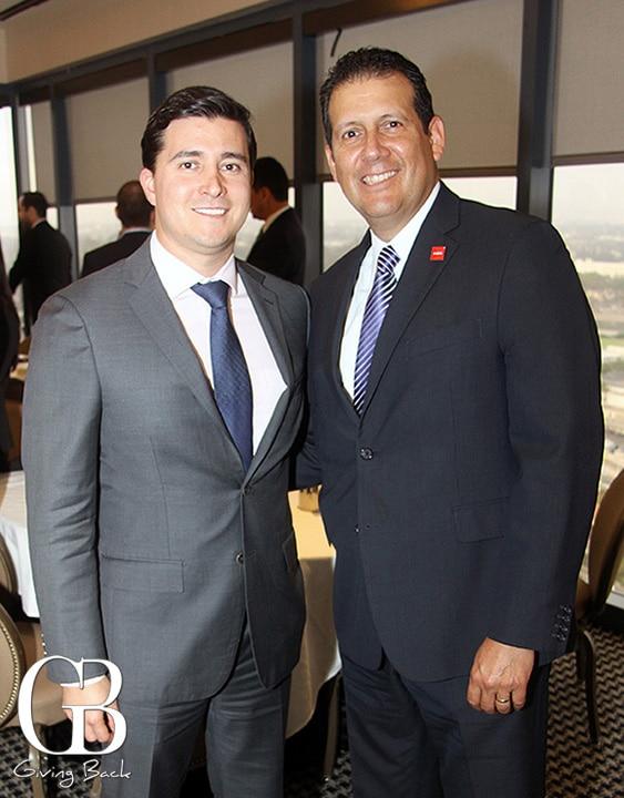 Cesar Navarro and Enrique Campos