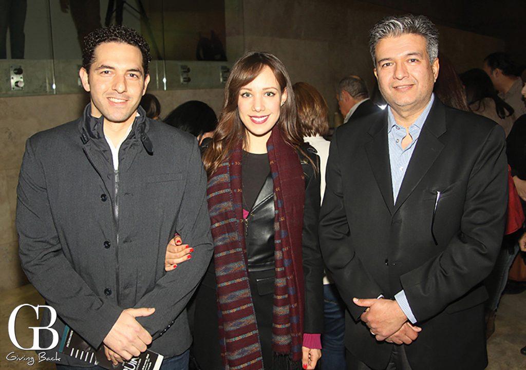 Cesar Parra  Silvia Navarro y Humberto Castaneda