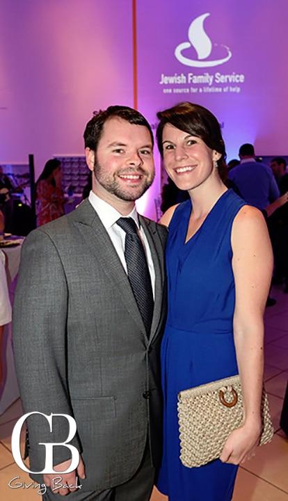 Chad Fleischer and Jessica Beldock