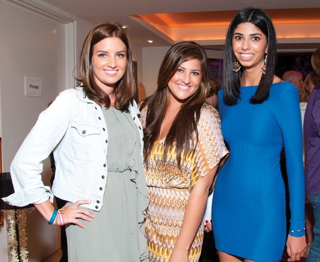 Chanel Mulcahy, Candice Caster and Shab Naghavi