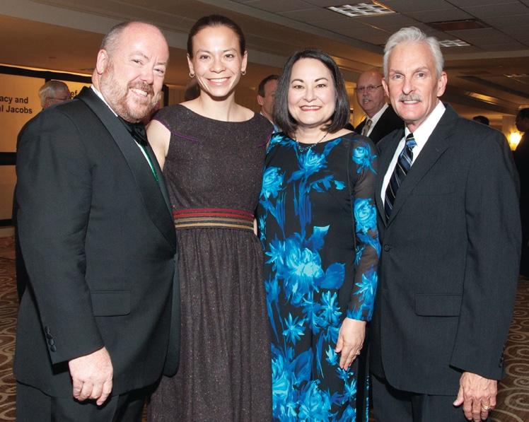 Charles Von Gunten, Holly Yang, Rosene Pirrello and Steven Gennaro