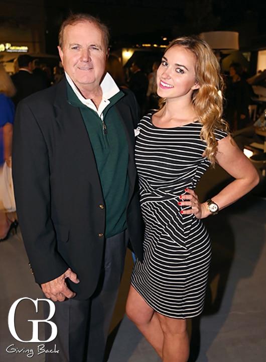 Charles Butler and Brianna Scott