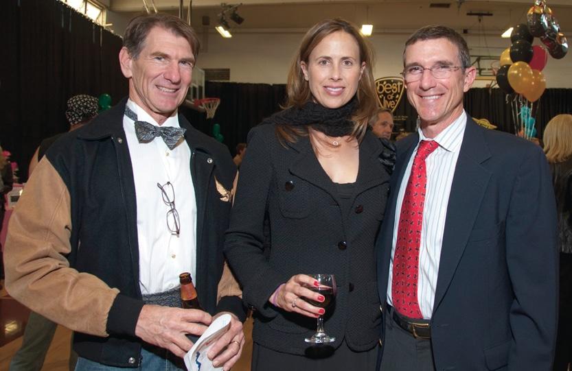 Charlie Mann, Jennfier Sefton and Tom Riley