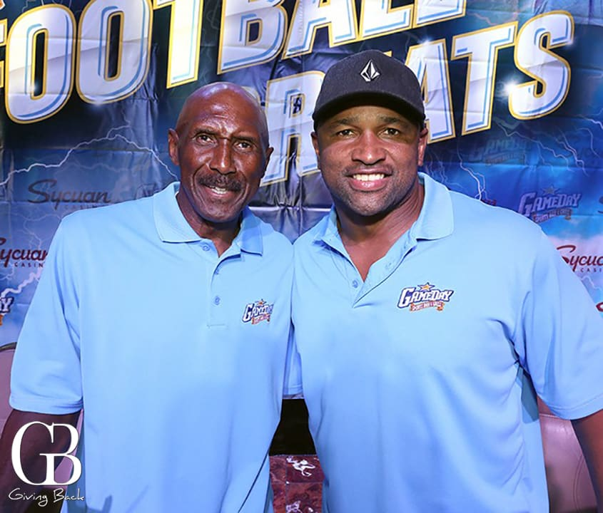 Charlie Joiner and Lorenzo Neal