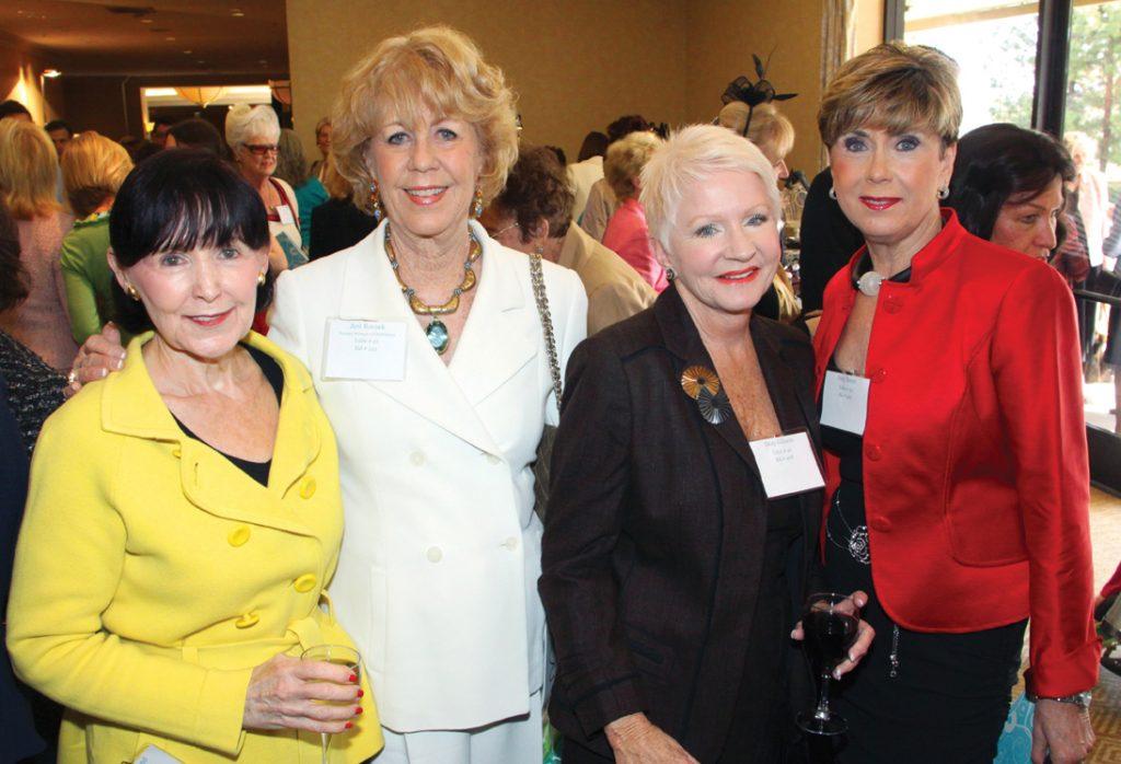Charlotte Rand, Jeri Rovsek, Dory Gibson and Judy Burer.JPG