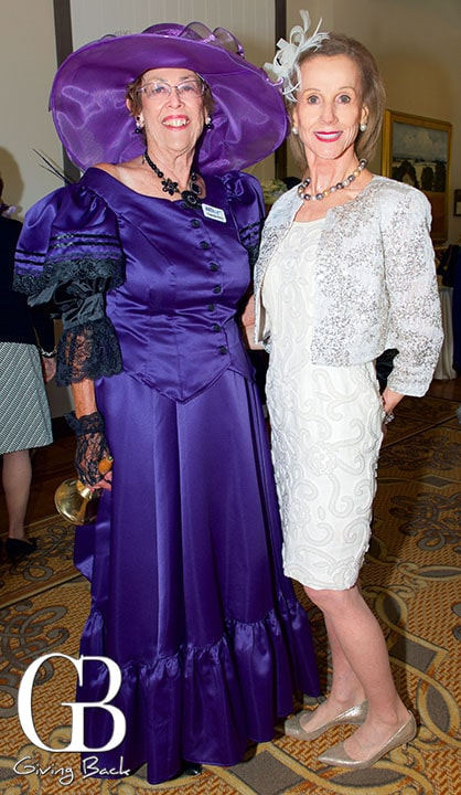 Charlotte Perry and Joyce Dostart