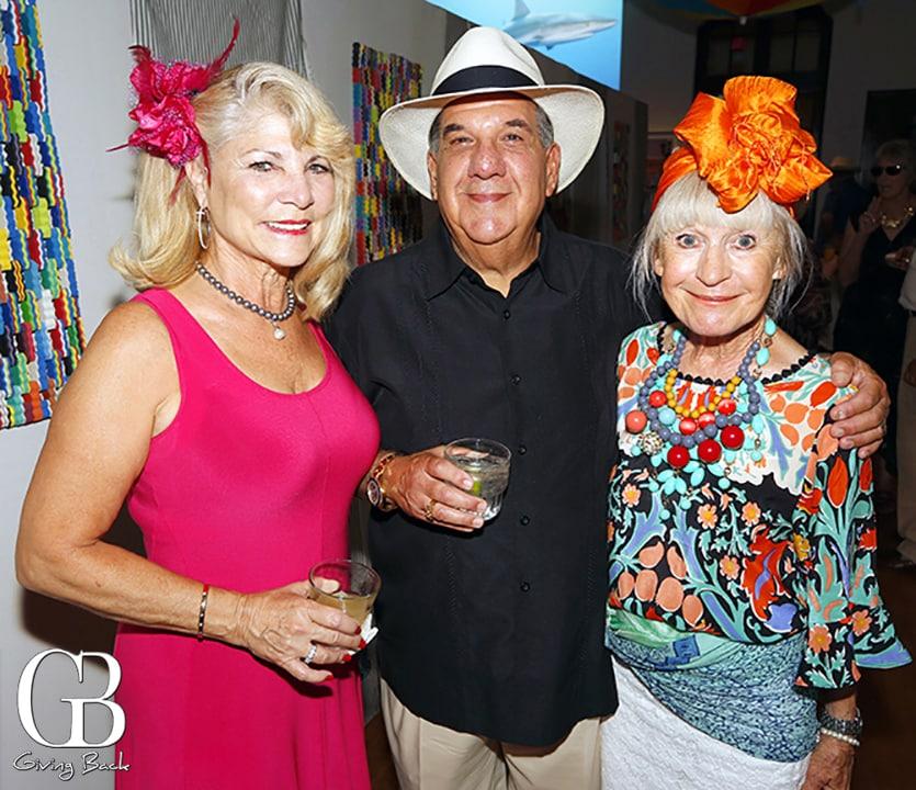 Charlotte and Eric Goldberg with Penny Buckingham