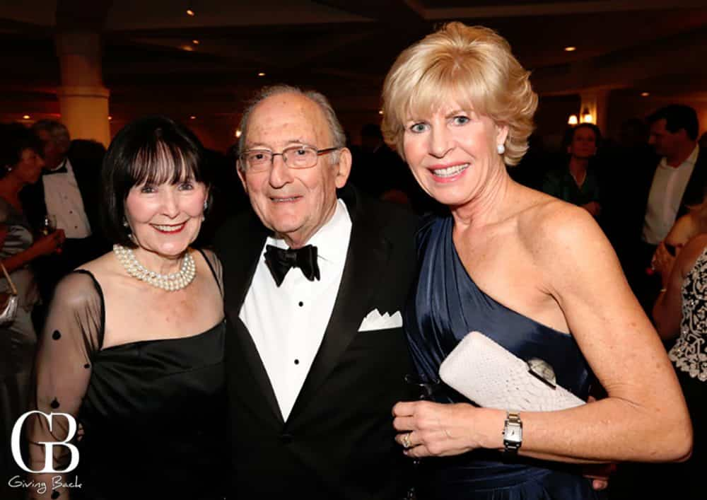 Charlotte and Philip Rand with Maggie Watkins