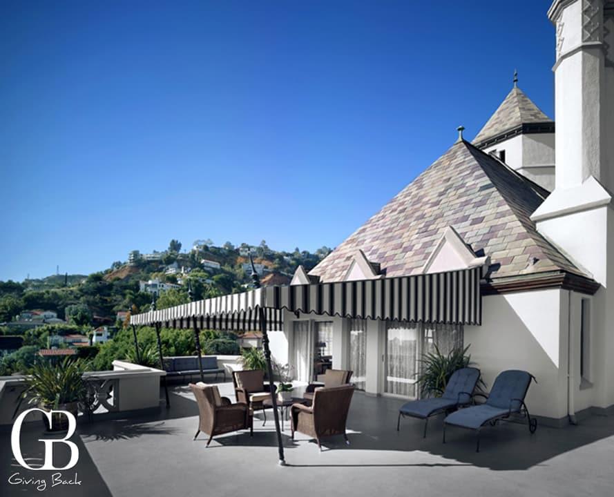 Chateau Marmont  Suite