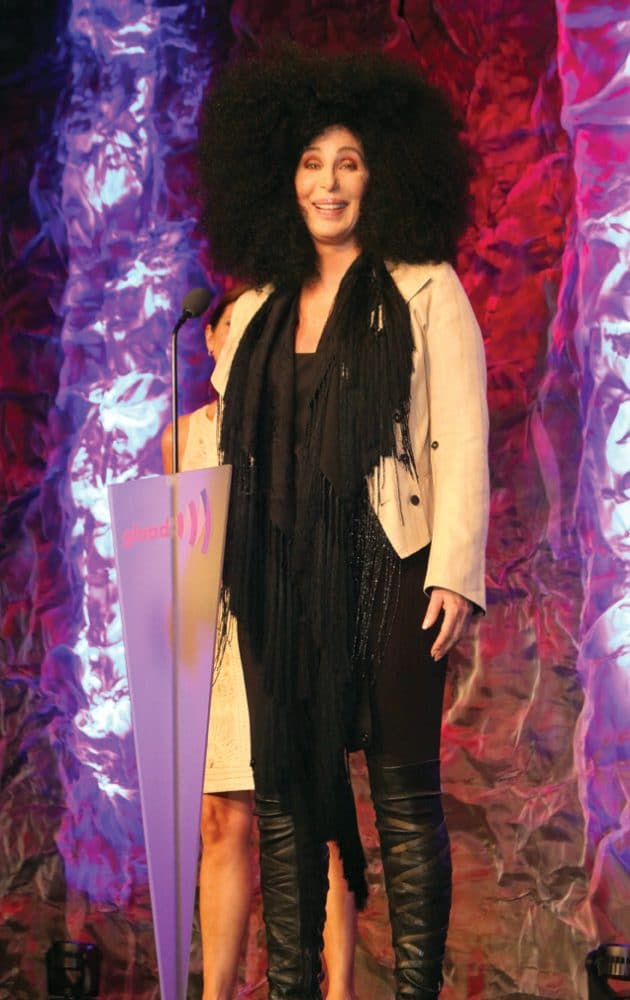Cher at the GLAAD Awards.JPG