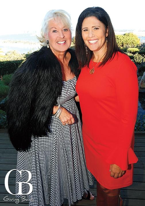Cheryl Mitchell and Angie Lasagna
