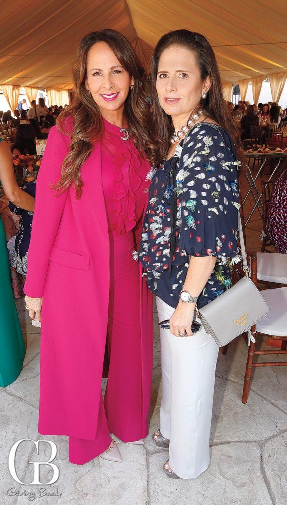 Cheryl Roberts and Livier Reynoso