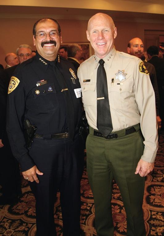 Chief of Police Adolfo Gonzalez and Undersheriff Jim Cooke.JPG