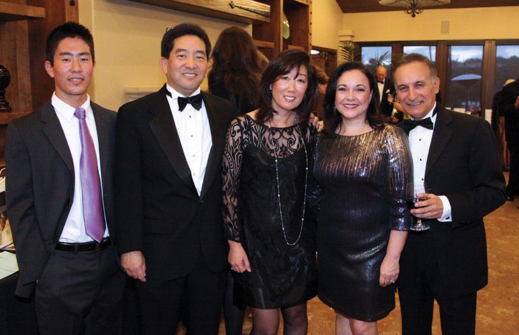 Chris, Chuck and Christi, Miyahira with Mitzi and Ricardo Dominguez.JPG