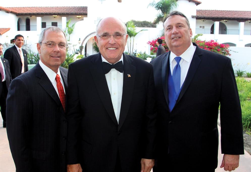 Chris Megison, Mayor Rudy Giuliani and Mark King +.JPG