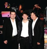 Chris Ruelas, Eric Ibarra y Enrique Duarte