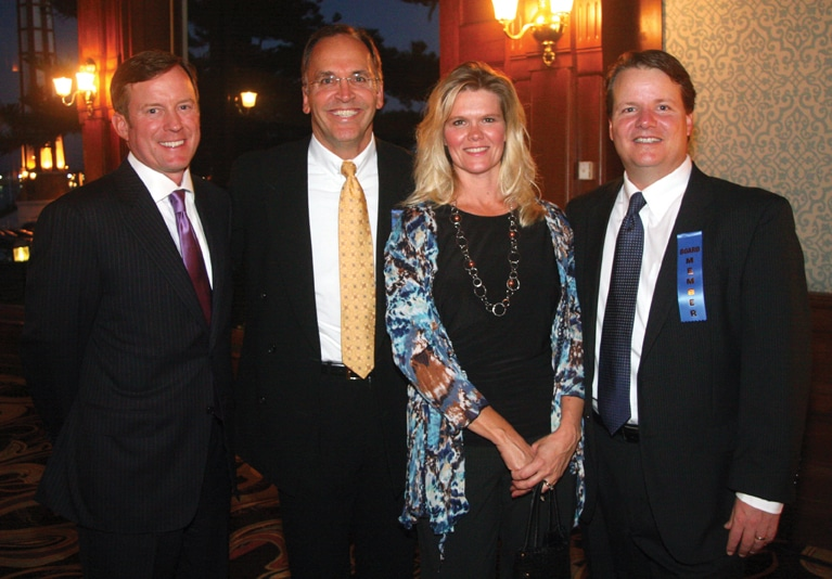 Chris Tresse, Ron Ferrrari, Tara and Craig Golding.JPG