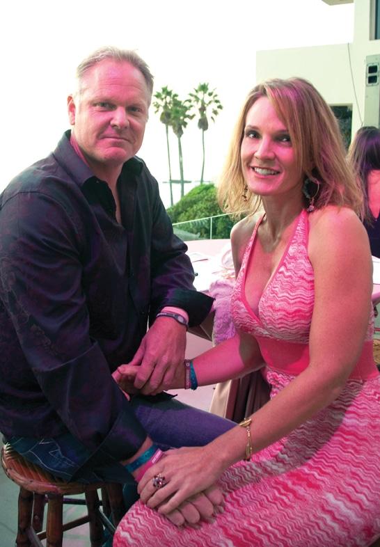 Chris Wakeman and Paula Isley