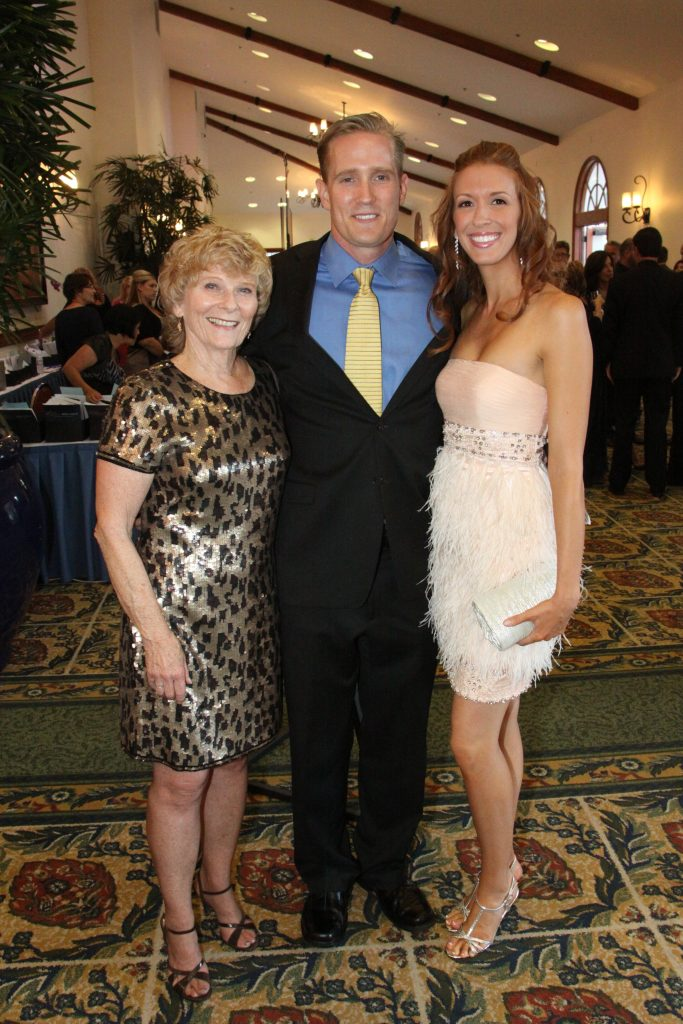 Chris Williams with Monty and Melissa James.JPG
