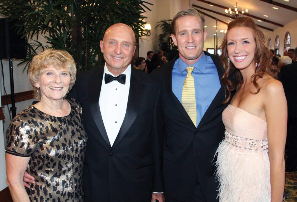 Chris and Dal Williams with Monty and Melissa James.JPG