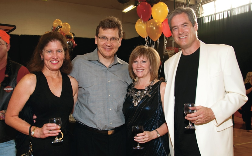 Chris and Rob McGregor with Kathy and Jon Lauer