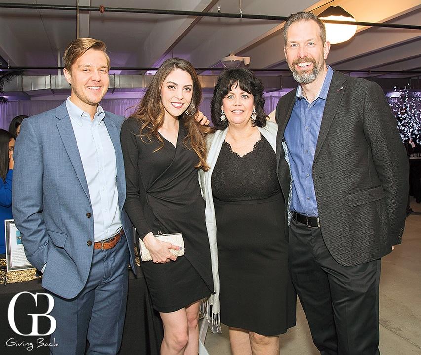 Chris Clark  Kaila Weedman with Alicia and Rob Owens