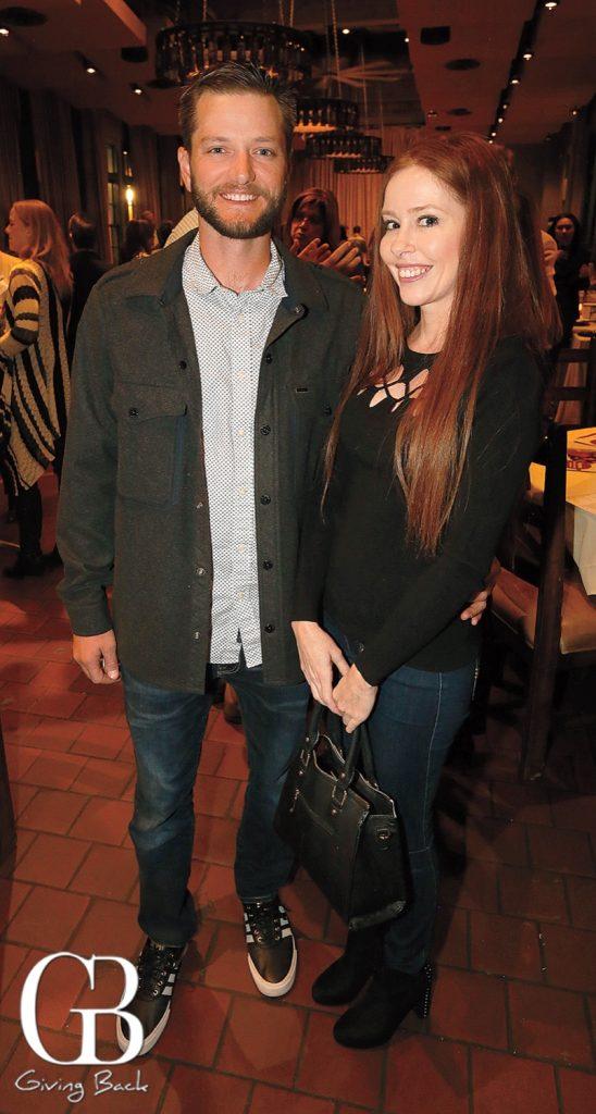 Chris Rowland and Anna Fox
