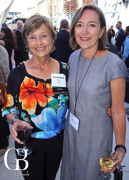 Christa Burte and Karen Mercaldo