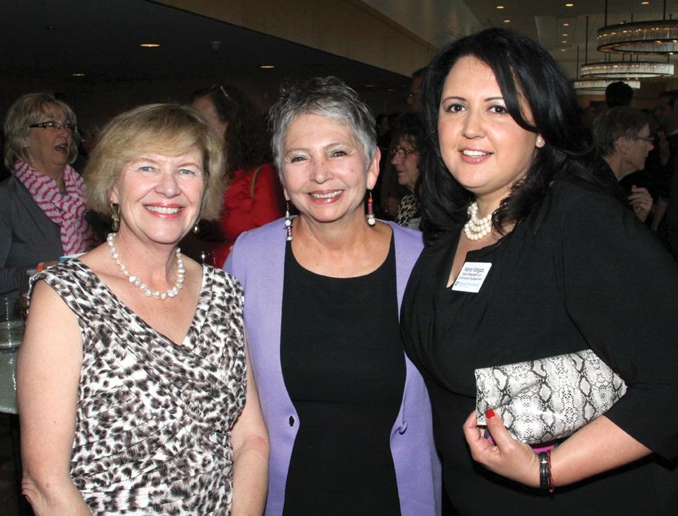 Christina Chiriboga Hahn, Linda LeGerrette and Nora Vargas.JPG