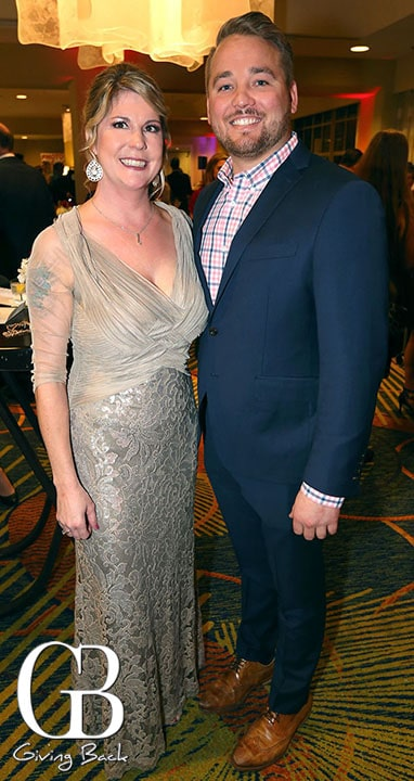 Christina Mercer and Mike Perlof