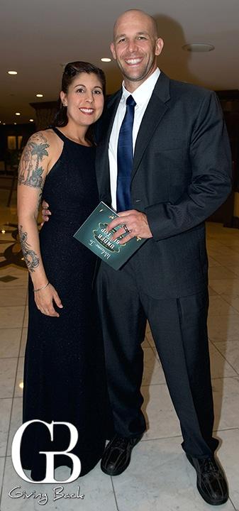 Christina Simon and Nick Thompson