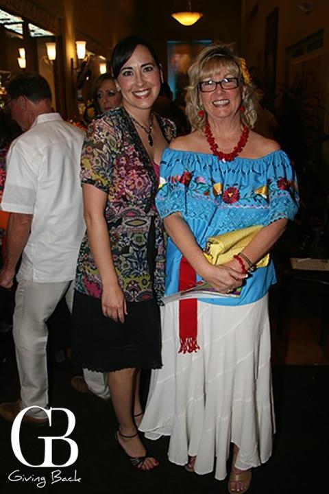 Christina Torrinello and Elsian Contreras