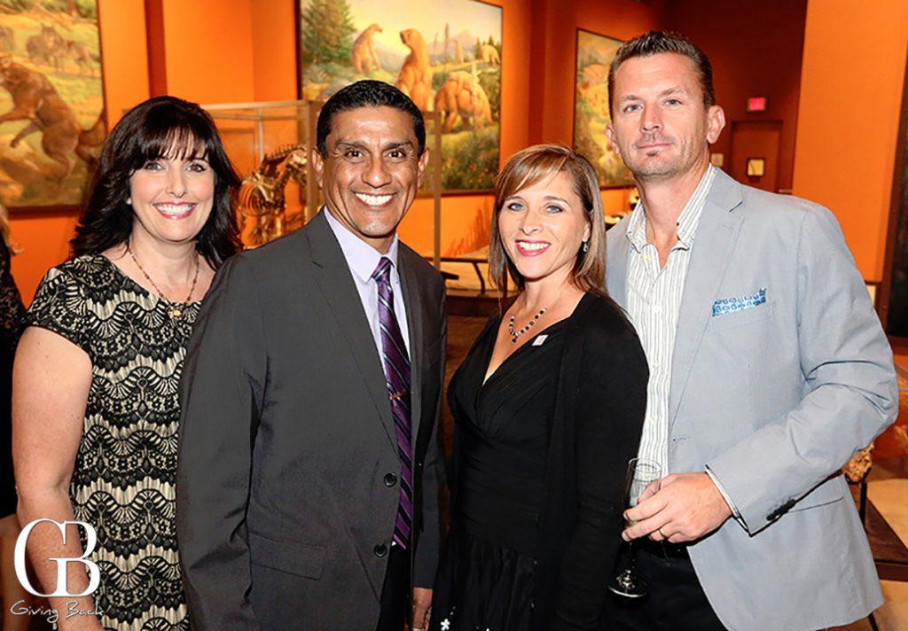 Christina and Jesse Alvarado with Donna and Mike Schweitzer