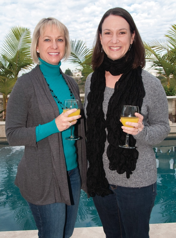Christine Bergman and Robin Derman