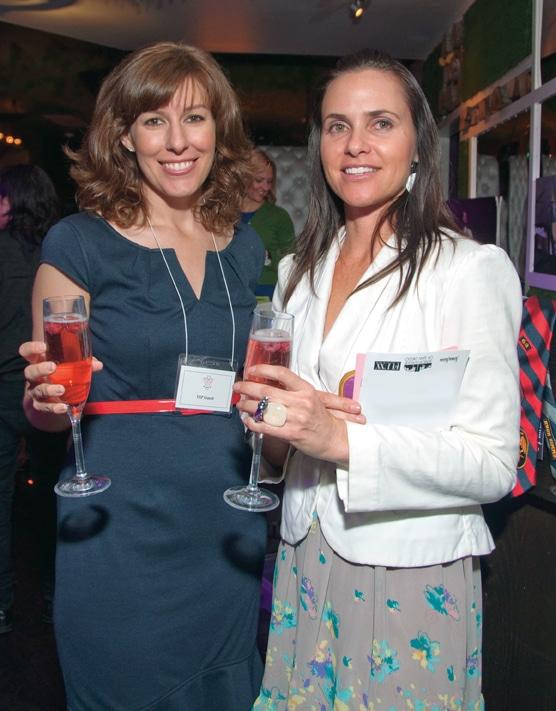 Christine Lawson and Sarah Mattern