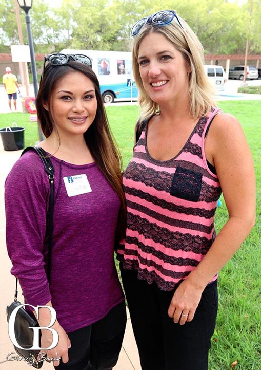 Christine Deboda and Melissa Clowers
