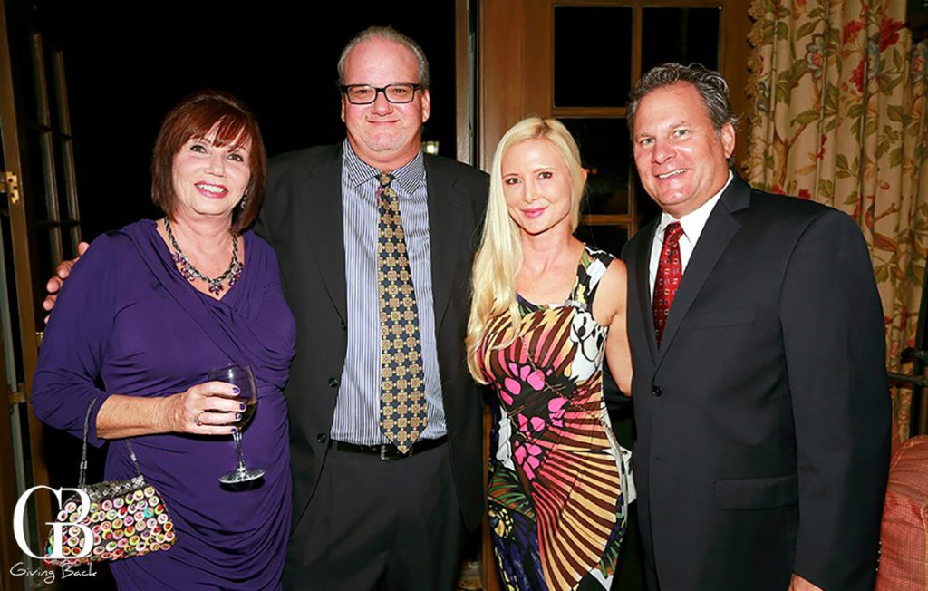 Christine and Tom Schwiebert with Helen and Chris Ghio