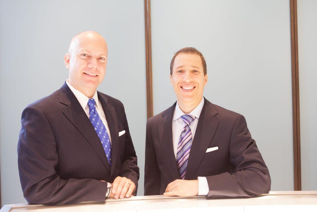 Christoper Holt and Jonathan Bruckner