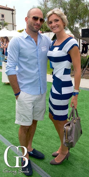 Christopher and Olivia Haddad