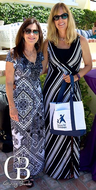 Christy Ballardo and Leda Buster