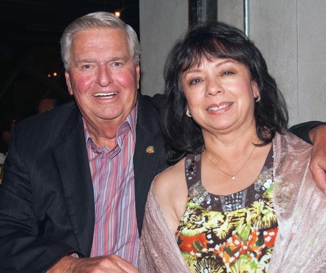 Chuck Hansen and Dee Dee Castro