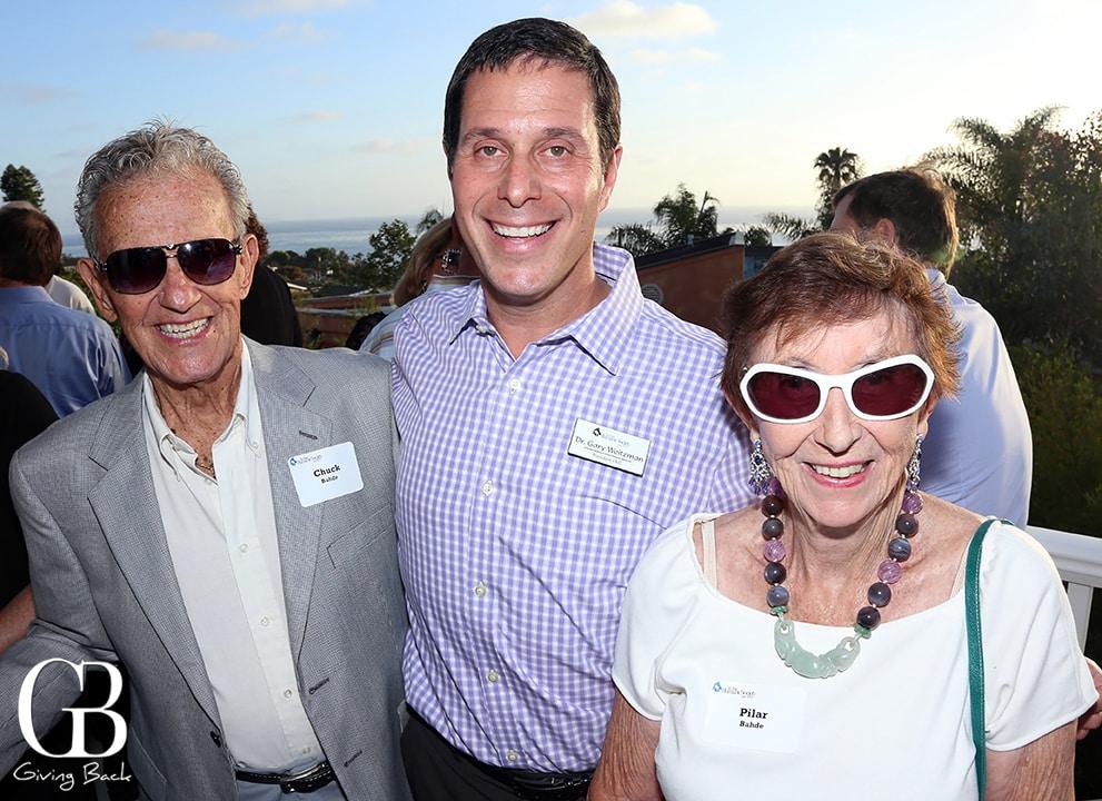 Chuck Bahda  Gary Weitzman and Pilar Bahde