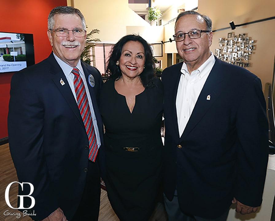Chuck Day  Connie Hernandez and Steve Ramirez