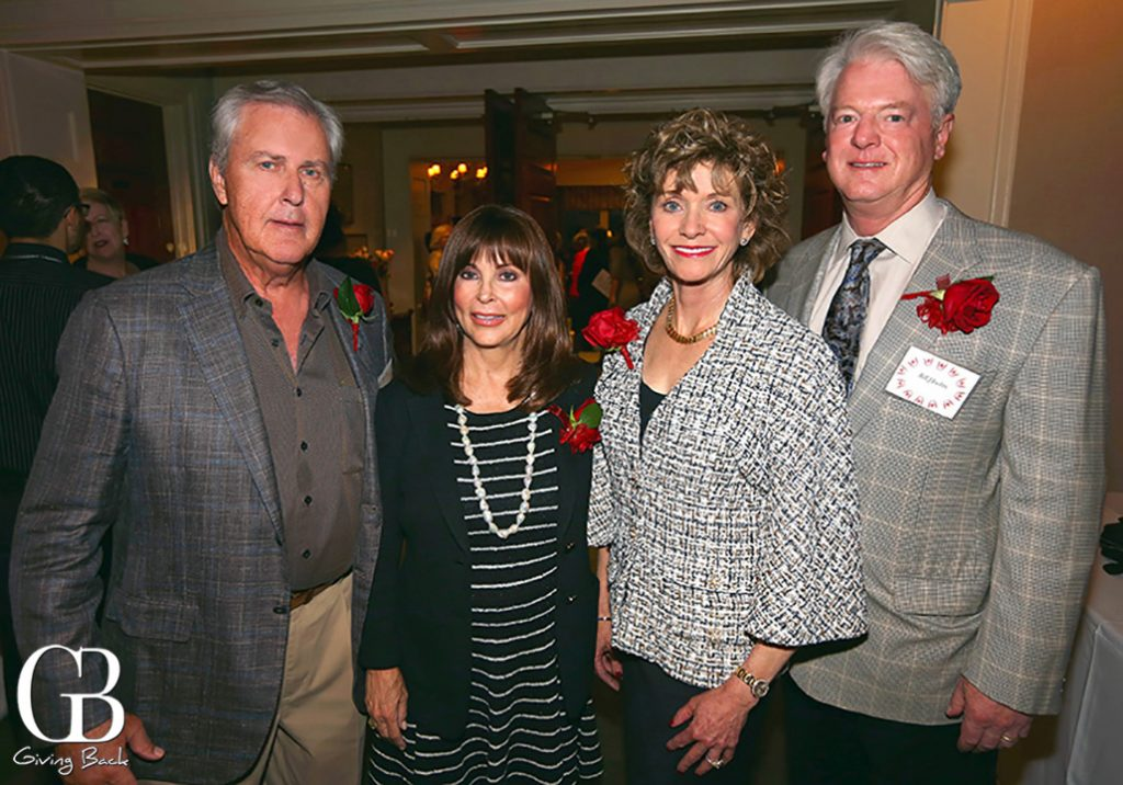 Chuck and Joani Wafer with Susan and Bill Hoehn