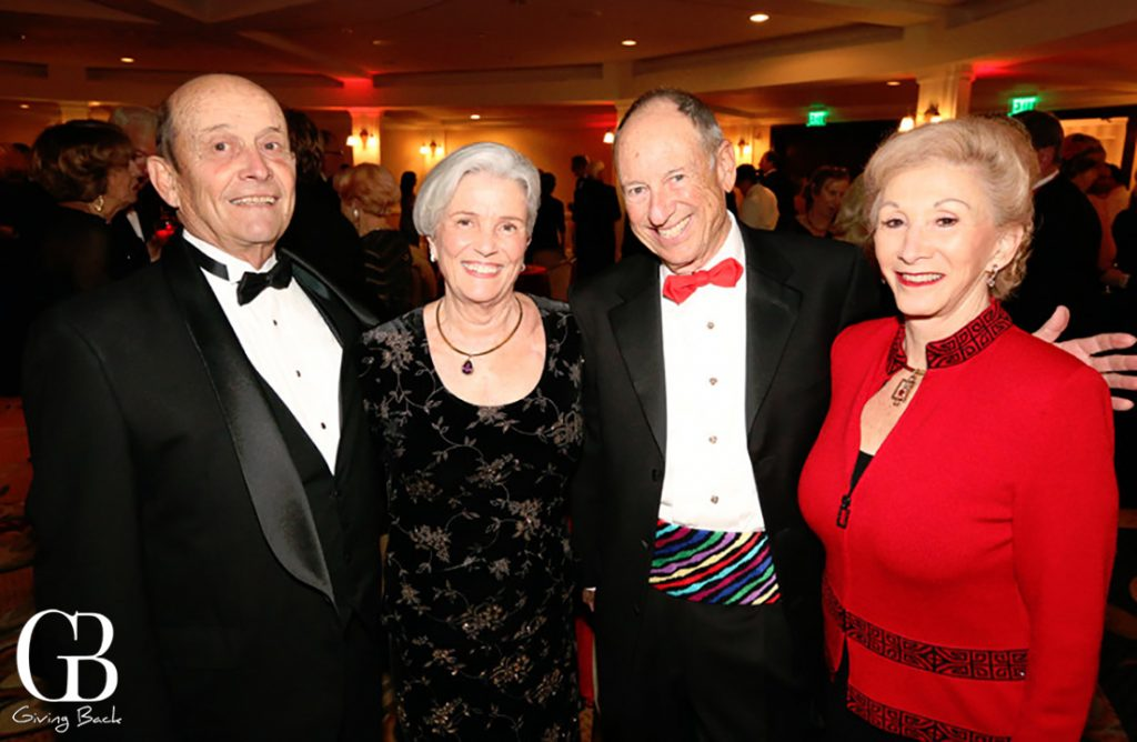 Chuck and Judy Bieler with Stephen and Marjorie Cushman