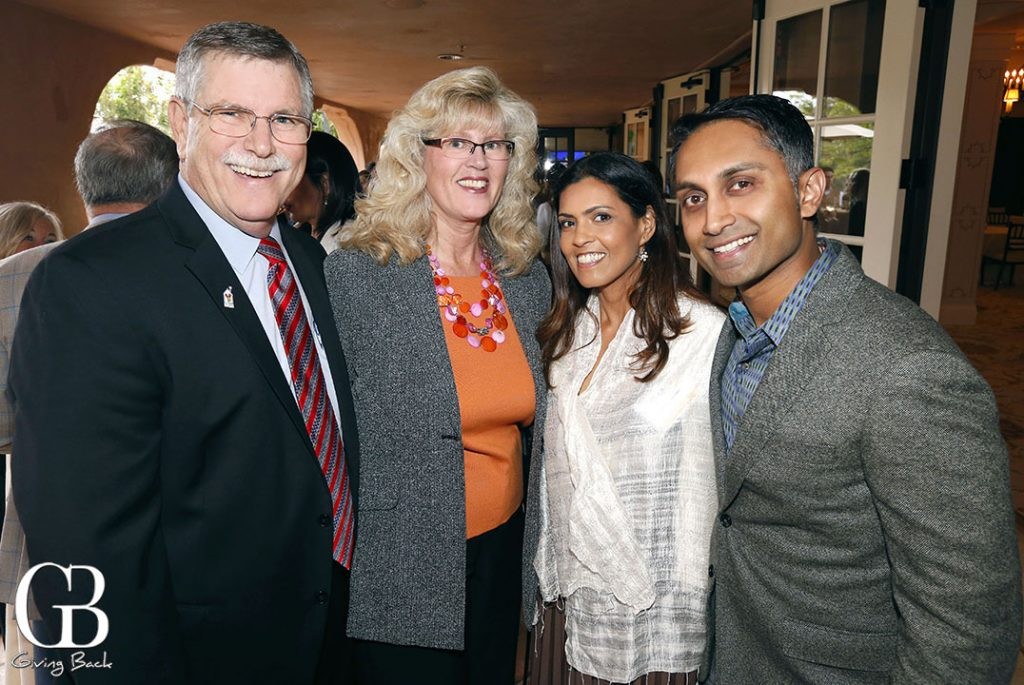 Chuck and Paula Day with Ami and Neil Aranha